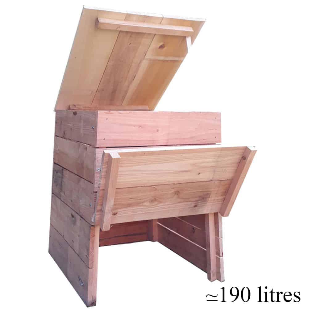 Composteur en bois: comment obtenir un compost de qualité?