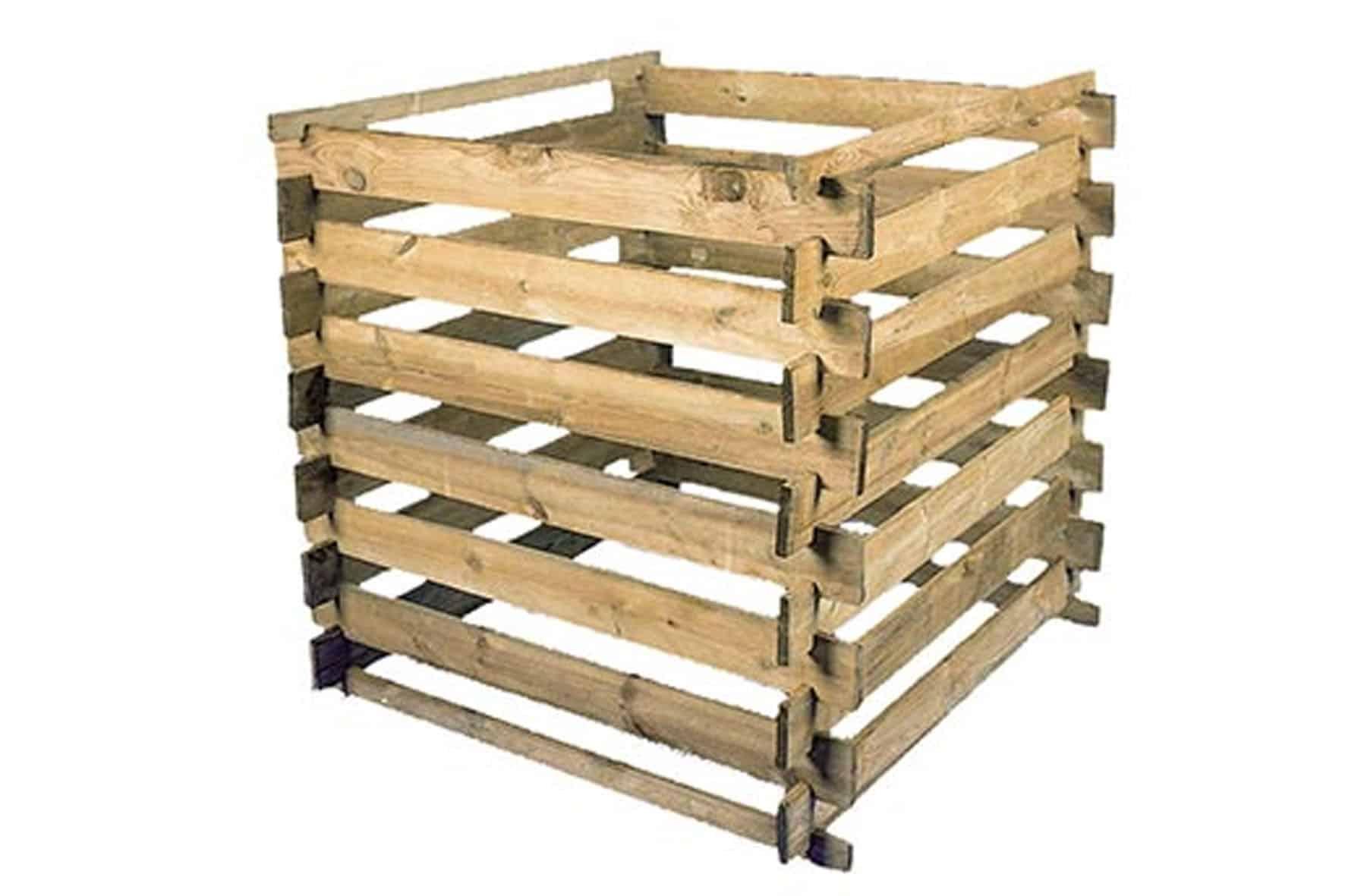 Qu'obtiendrez-vous dans votre composteur en bois?